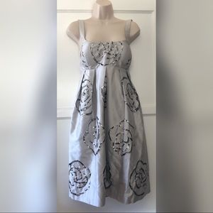 INC silver sequence dress